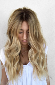 Beautiful Honey Bronde by @hairbytallie