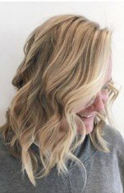 Love this Blonde from @hairbykatie.b